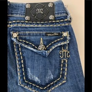 Miss Me Denim JP5014-3 Boot Jeans Size 27 X 31.